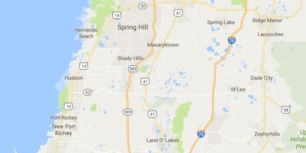 Areas Serviced for James Peck Landscape Services in Florida