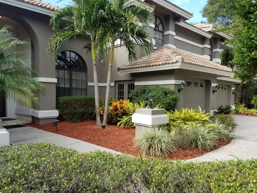 Landscape Design Palm Harbor Fl James Peck Services Installation