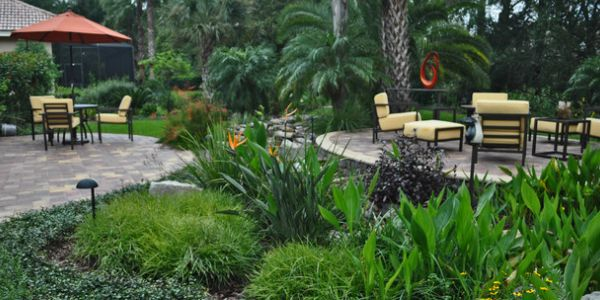 Landscape Design Palm Harbor by James Peck Landscape Services Palm Harbor